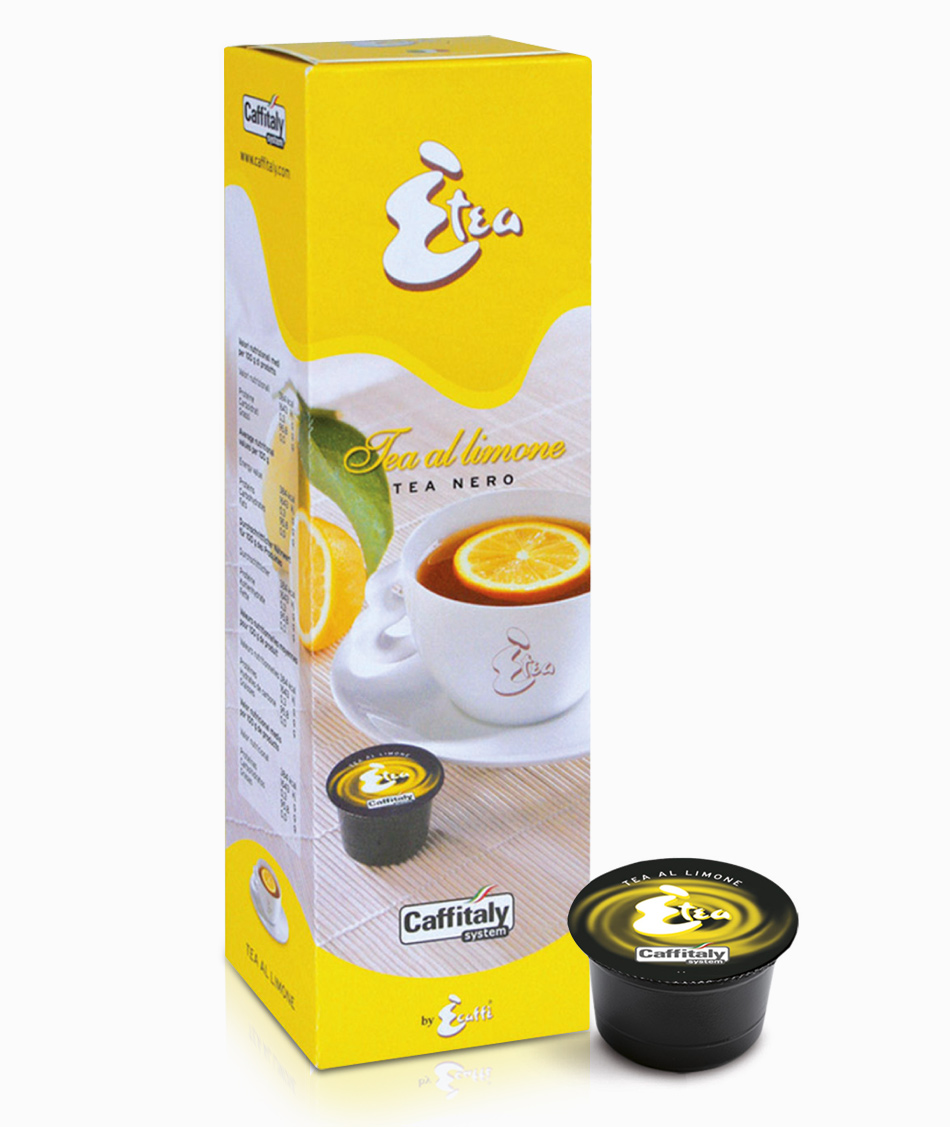 Caffitaly caff t nero al limone 10 pz coffea asiago for Limone nero